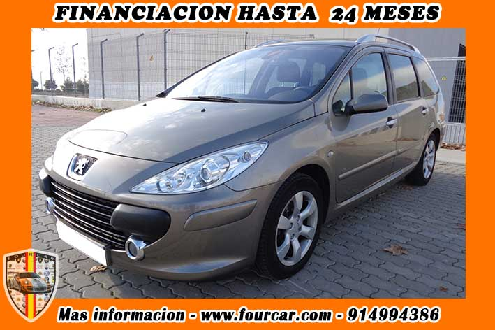 peugeot 307 1 6 hdi fap sw fourcar compra venta de vehiculos mi empresa. Black Bedroom Furniture Sets. Home Design Ideas